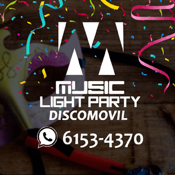 Music Light Party Discomovil Music Light Party Discomovil MLPD